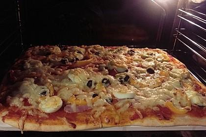 Schneller Pizzateig 10