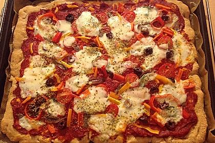 Schneller Pizzateig 3