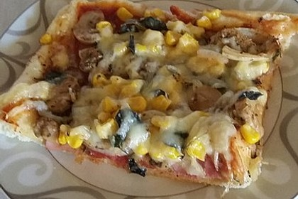 Schneller Pizzateig 17