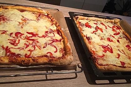 Schneller Pizzateig 14