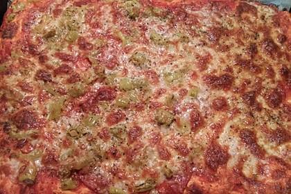 Schneller Pizzateig 16