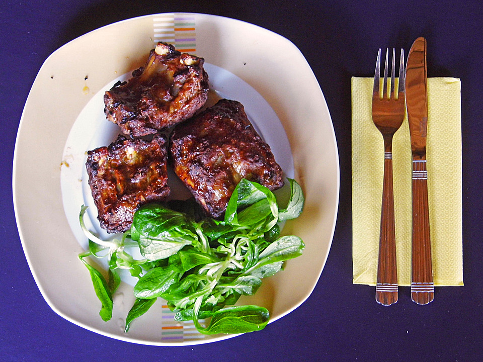 Vorgekochte Spareribs Gasgrill : Süß scharfe spare ribs von lenacuse chefkoch.de
