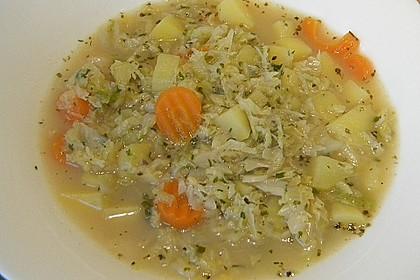 Kartoffel - Wirsing - Eintopf 1