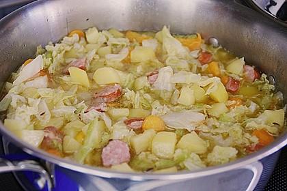 Kartoffel - Wirsing - Eintopf 2