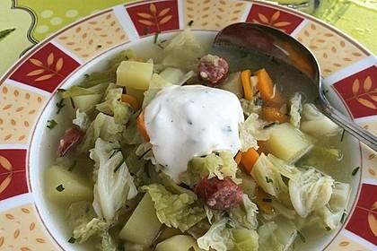 Kartoffel - Wirsing - Eintopf 3