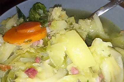Kartoffel - Wirsing - Eintopf 7