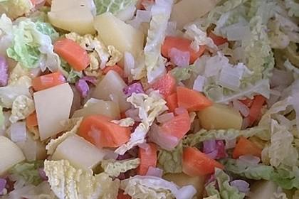 Kartoffel - Wirsing - Eintopf 4