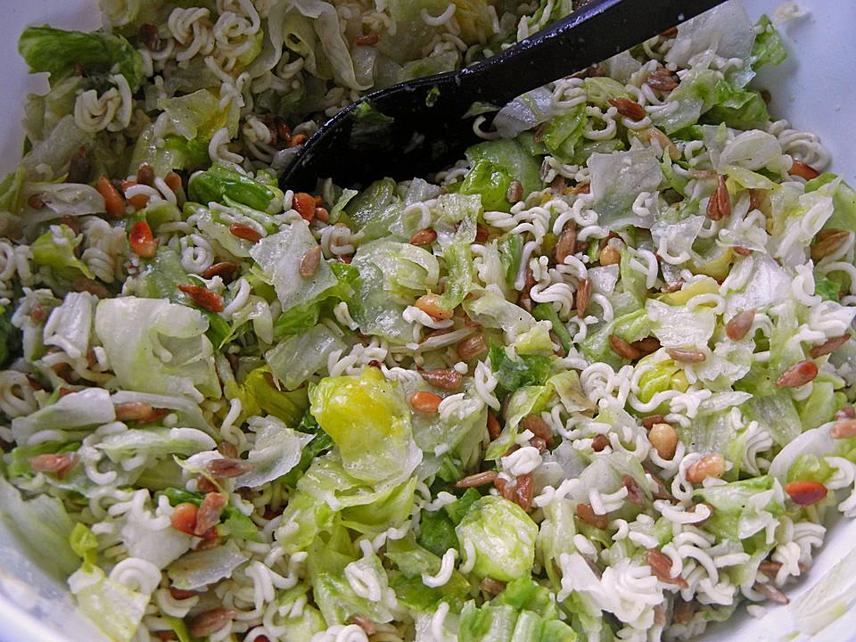 Salat mit yum yum