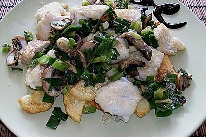 Feiner Pannfisch mit Bratkartoffeln und Senfsauce 2