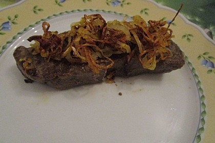 Steaks mit Zwiebeln 9