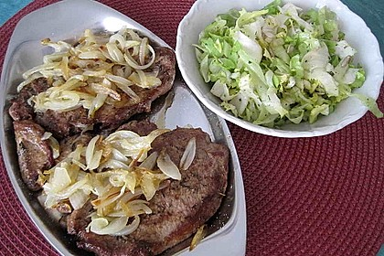 Steaks mit Zwiebeln 3