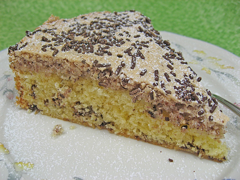 Sand kuchen backen