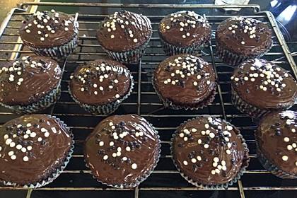 Schoko - Frischkäse Muffins 17