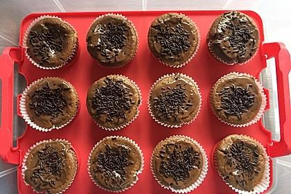 Schoko - Frischkäse Muffins 16