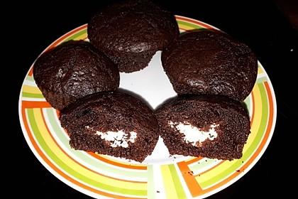 Schoko - Frischkäse Muffins 8