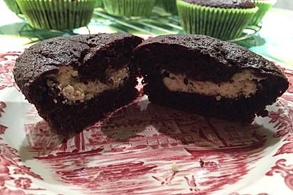 Schoko - Frischkäse Muffins 31