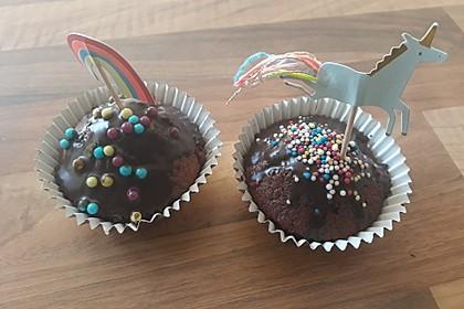 Schoko - Frischkäse Muffins 32