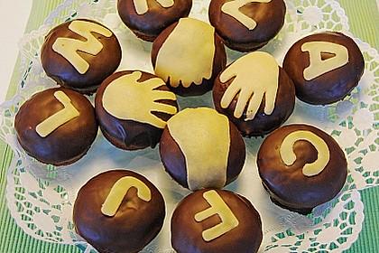 Schoko - Frischkäse Muffins 33