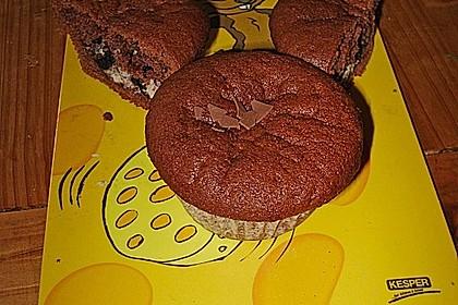 Schoko - Frischkäse Muffins 19