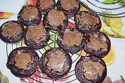 Schoko - Frischkäse Muffins 37