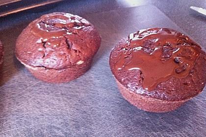 Schoko - Frischkäse Muffins 52