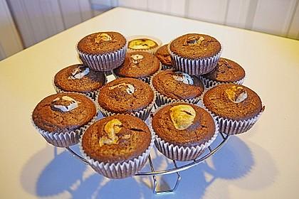 Schoko - Frischkäse Muffins 18