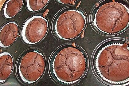Schoko - Frischkäse Muffins 48
