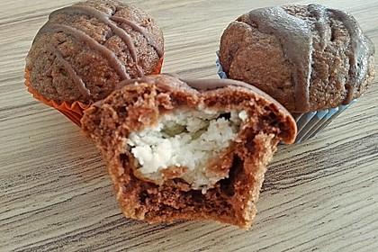 Schoko - Frischkäse Muffins 13
