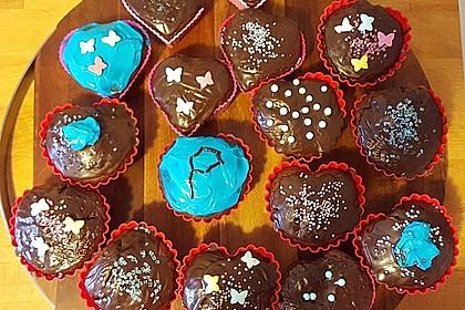 Schoko - Frischkäse Muffins 40