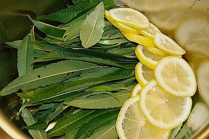 Sirup von Zitronenverbene 2