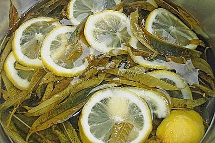 Sirup von Zitronenverbene 1