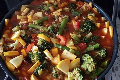 Kartoffel - Gemüse - Pfanne 1