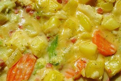 Kartoffel - Gemüse - Pfanne 13