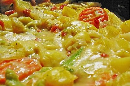 Kartoffel - Gemüse - Pfanne 16