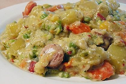 Kartoffel - Gemüse - Pfanne 3