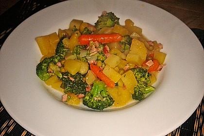 Kartoffel - Gemüse - Pfanne 4