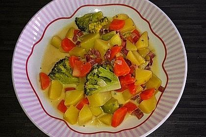 Kartoffel - Gemüse - Pfanne 2
