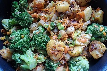 Kartoffel - Gemüse - Pfanne