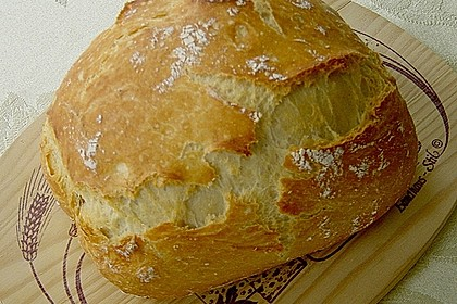 No Knead Bread 7