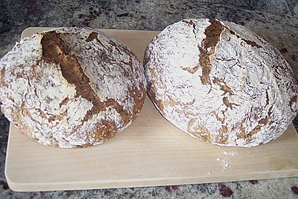 No Knead Bread 138