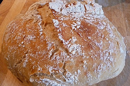 No Knead Bread 60