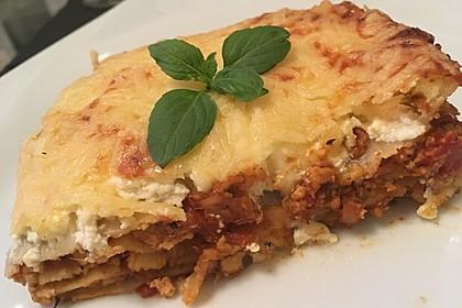 Vegetarische Lasagne mit Tofu 6