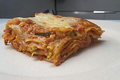 Vegetarische Lasagne mit Tofu 7