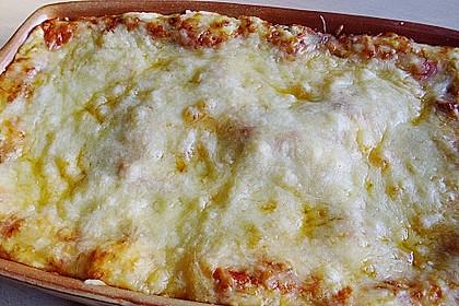 Vegetarische Lasagne mit Tofu 5
