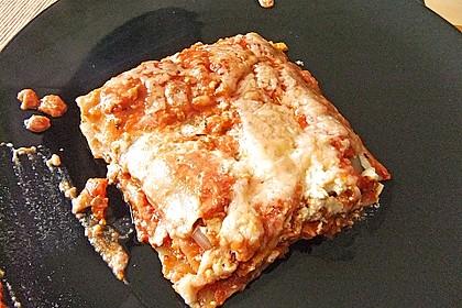 Vegetarische Lasagne mit Tofu 4