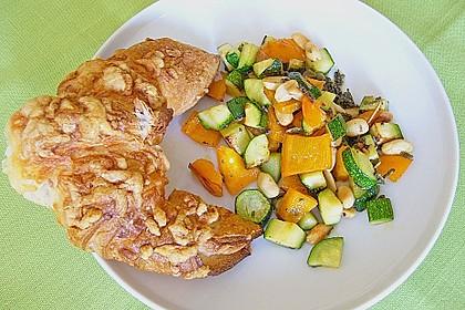 Zucchini - Paprika - Mosaik