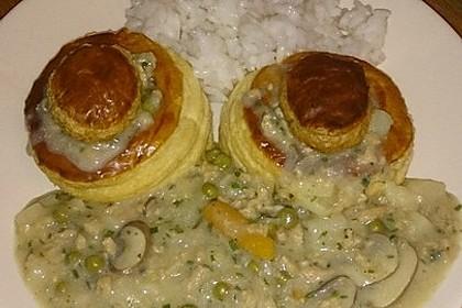"Veganes ""Hühnerfrikassee"" mit Reis 7"