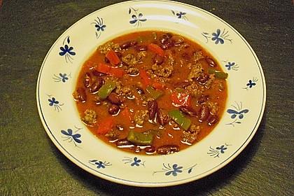 Chili con Carne y Pimiento