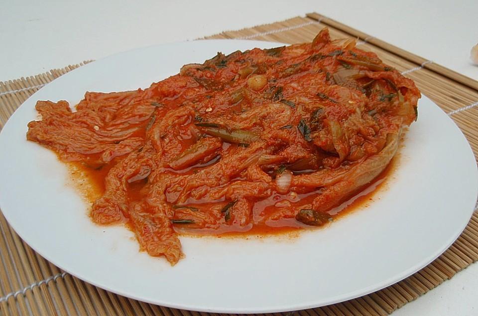 Kimchi Rezept Einfach
