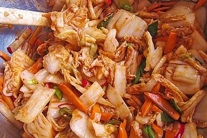 Baechu Kimchi - Chinakohl pikant nach koreanischer Art